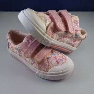 Girls Baby/Toddlers Hello Kitty Shoes, Sz 7